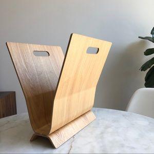 Other - Wooden Magazine holder